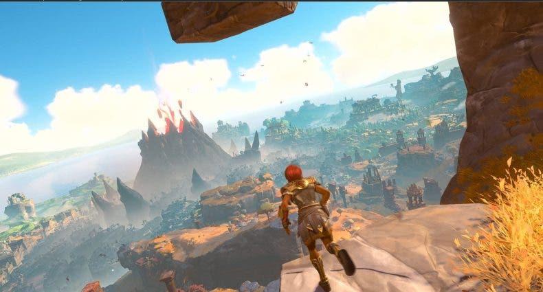 Gameplay de Immortals Fenyx Rising PC