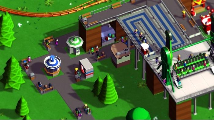 Gameplay de Parkitect PC