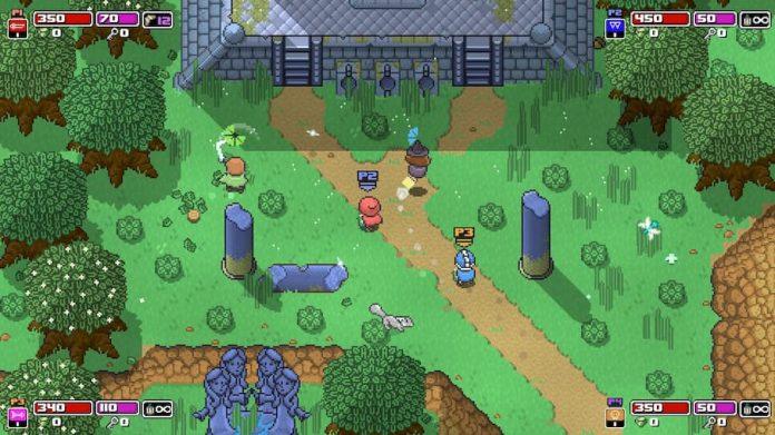 Gameplay de Rogue Heroes Ruins of Tasos pc 2021 Online
