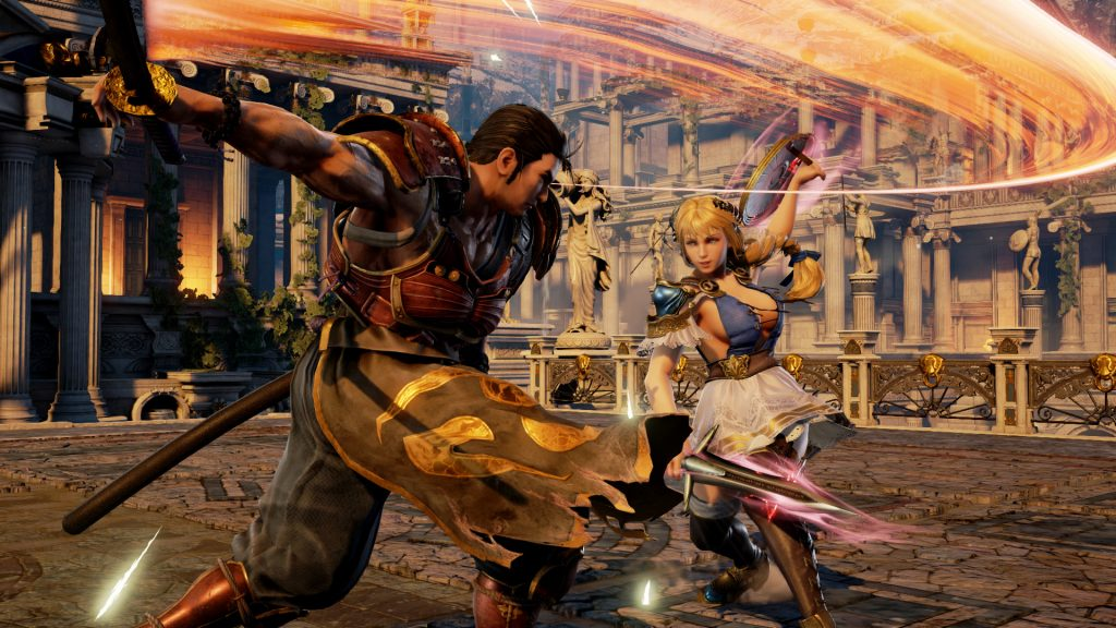 Gameplay de Soulcalibur VI para PC