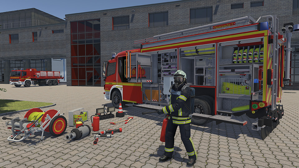 Gameplay de Emergency Call 112 The Fire fighting Simulation 2 pc