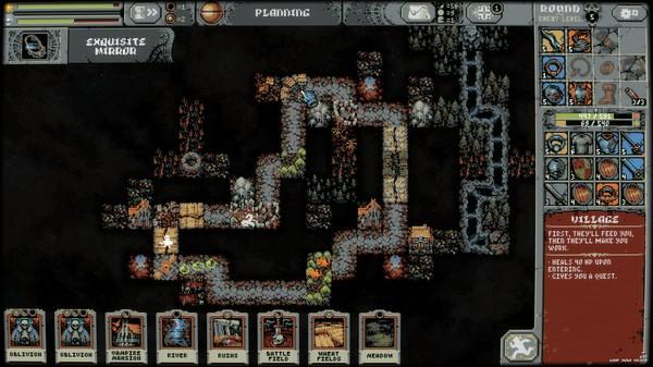 Gameplay de Loop Hero para PC 2021