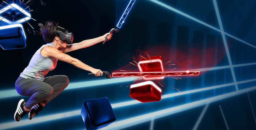 Gameplay de Beat Saber VR PC