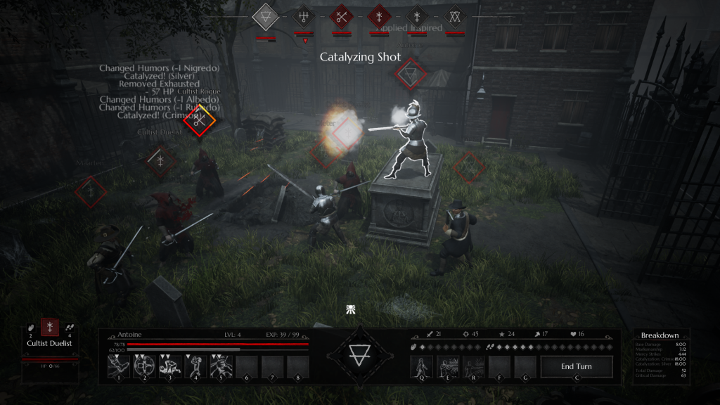 Gameplay de Black Legend PC 2021