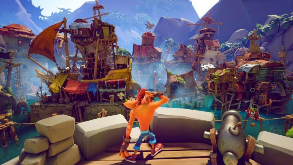 Gameplay de Crash Bandicoot 4 pc 2021