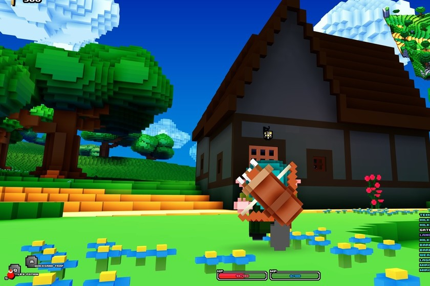 Gameplay de Cube World para PC