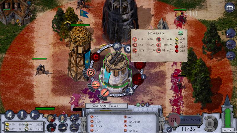 Gameplay de Empires in ruins pc 2021