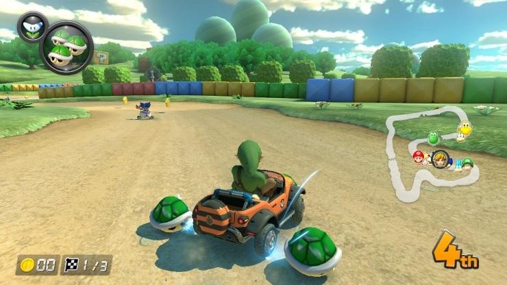 Gameplay de Mario Kart 8 pC