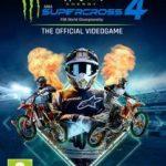 Cover de Monster Energy Supercross 4 para PC 2021