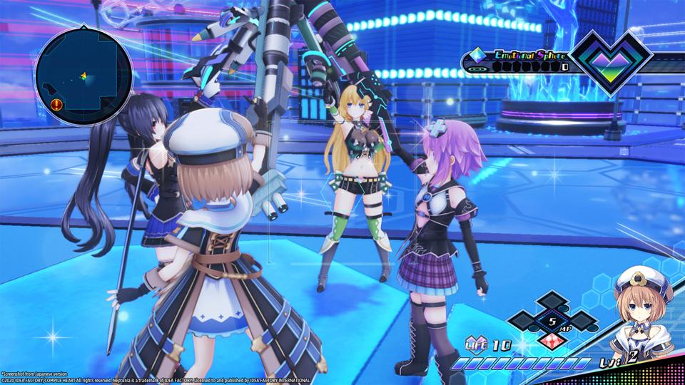Gameplay de Neptunia Virtual Stars PC