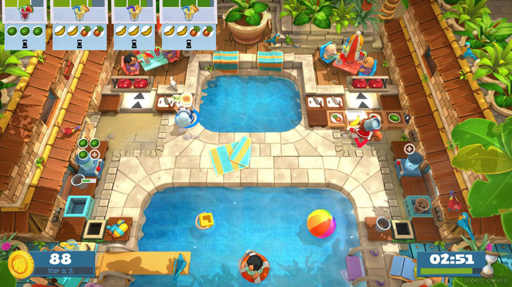 Gameplay de Overcooked  All you can eat pc 2021