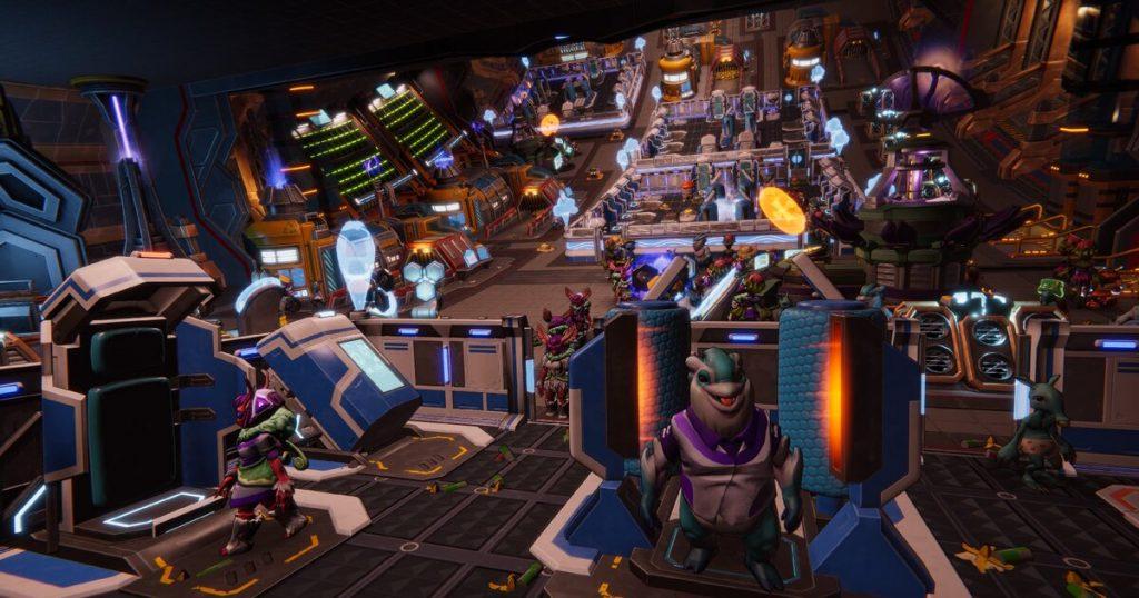 Gameplay de Spacebase Startopia PC 2021