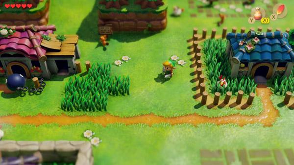 Gameplay de Zelda Links awakening pc
