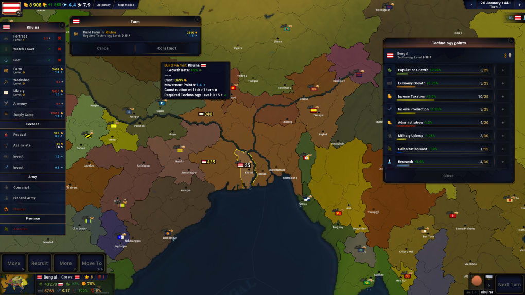 Gameplay de Age of civilizations 2 pc