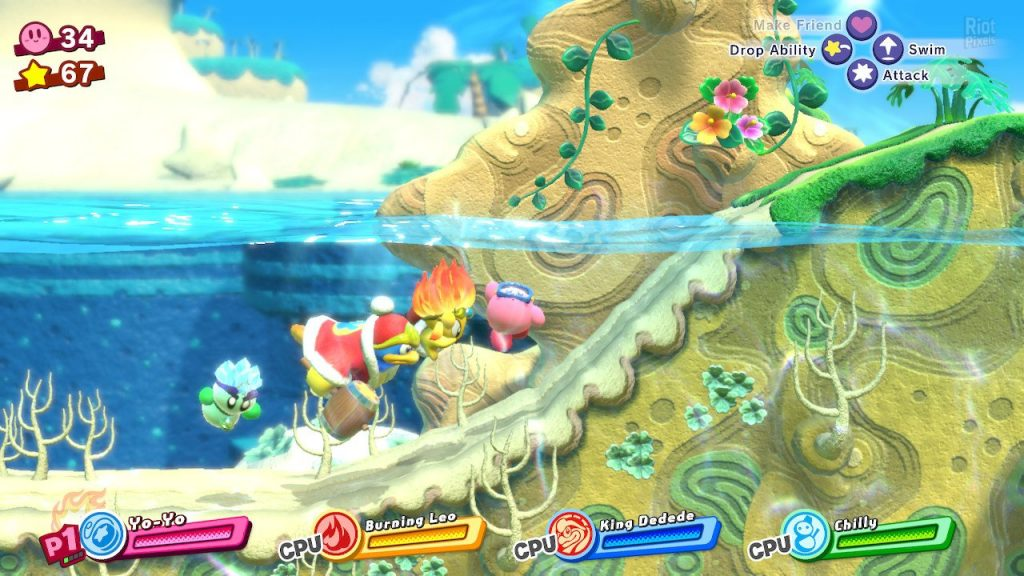 Gameplay de Kirby The Complete Collection PC 2021