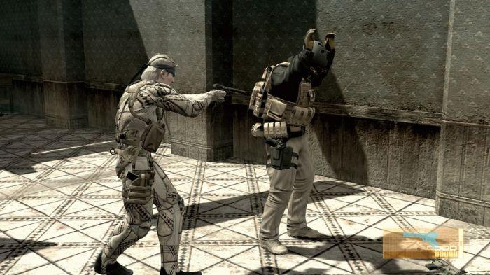 Gameplay de Metal Gear Solid  4 PC
