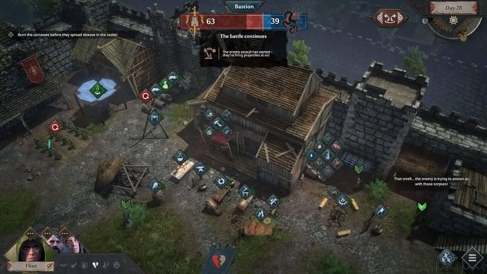 Gameplay de Siege Survival Gloria Victis pc 2021 español