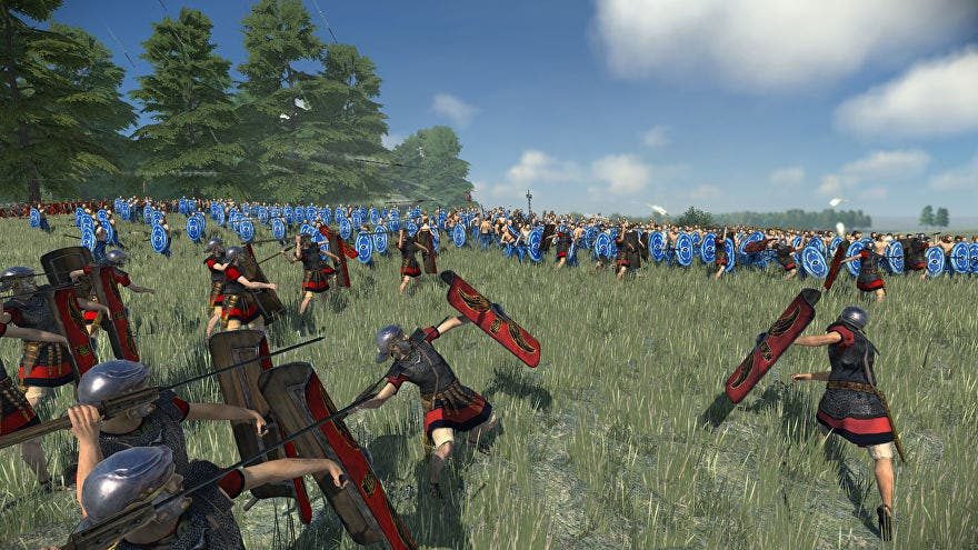 Gameplay de Total War Rome Remastered 2021 pc