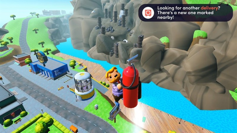 Gameplay de Totally Reliable Service Delivery PC