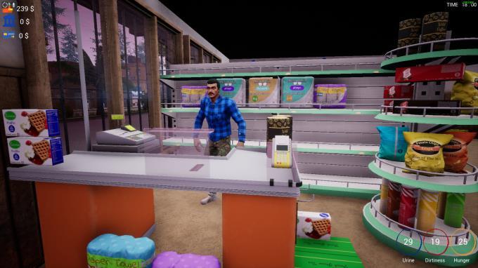 Gameplay de Trader Life Simulator
