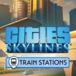 Cover de Cities Skylines Train Stations PC