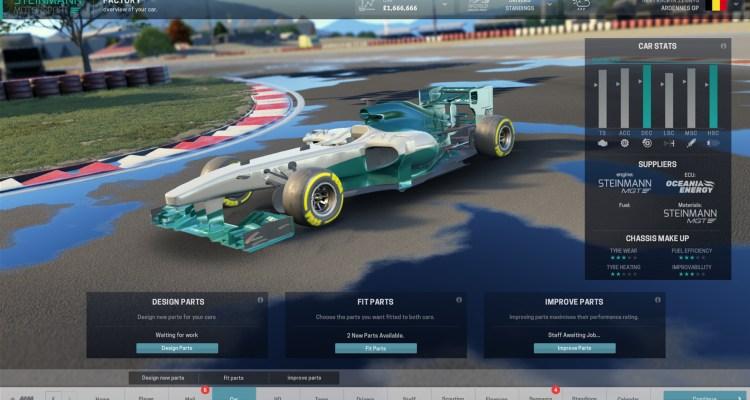 Gameplay de Motorsport Manager PC