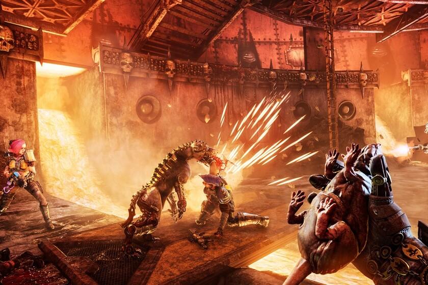 Gameplay de Necromunda Hired Gun 2021 PC