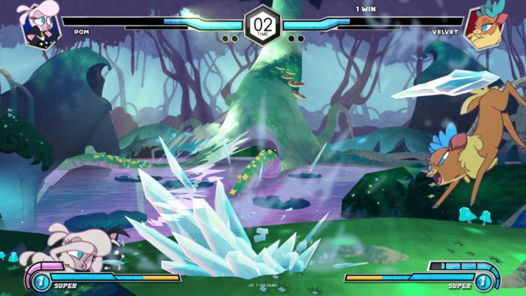 Gameplay de Thems Fightin Herds online v2.1 2021 pc