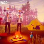 Gameplay de Camping Simulator Online PC 2021 the squad