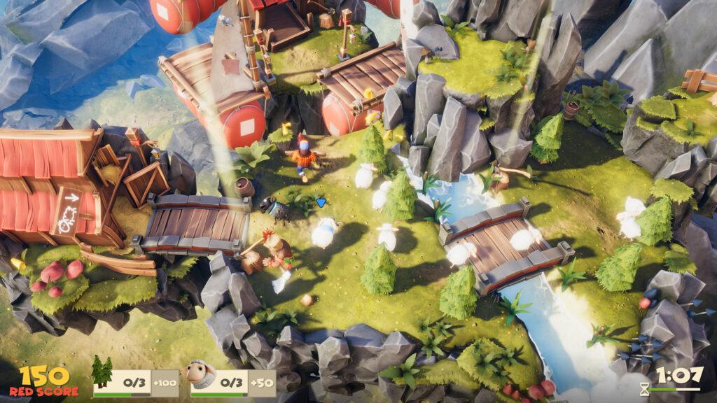 Gameplay de Lumberhill Online 2021 PC