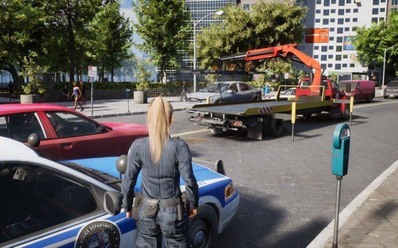 Gameplay de Police Simulator Patrol Officers pc