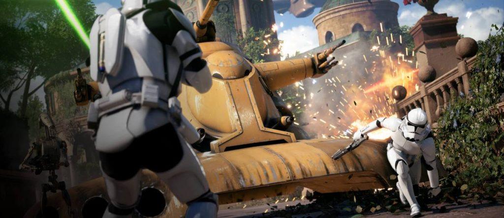 Gameplay de SW Battlefront 2 para pc