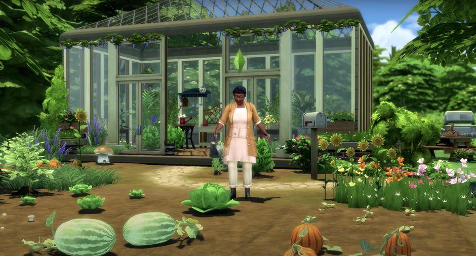 Gameplay de The Sims 4 Vida de Pueblo pc 2021