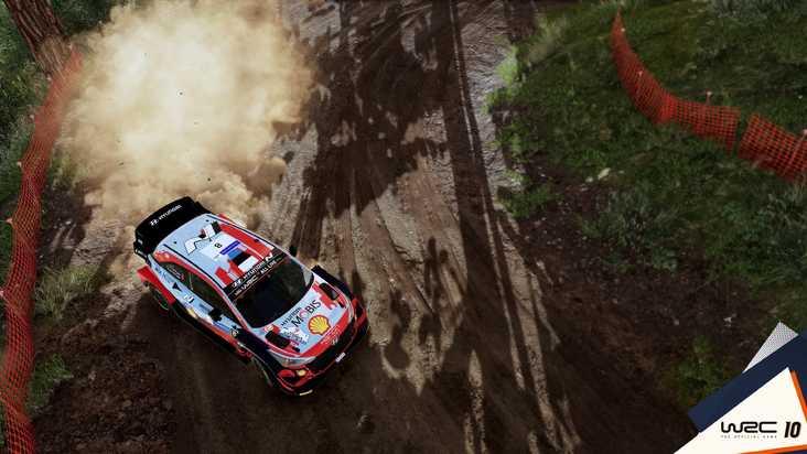 Gameplay de WRC 10 para PC