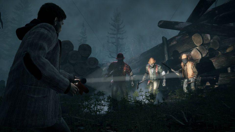 Gameplay de Alan Wake Remastered PC 2021